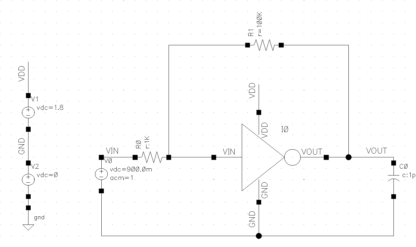 Design framework ii tutorial using symbols figure 3 using the inverter symbol in a new schematic buycottarizona